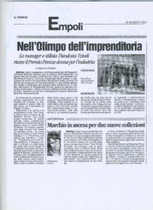 43 NELL'OLIMPO DELL'IMPRENDITORIA